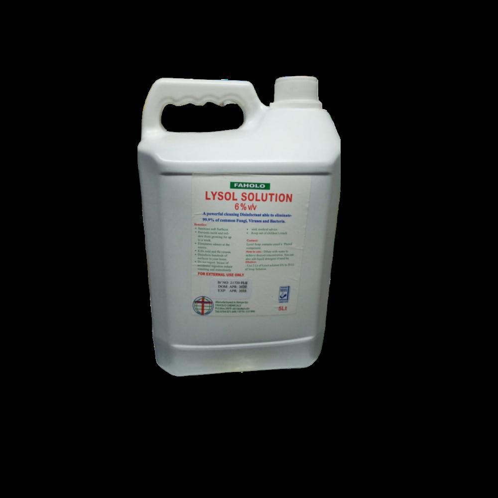 Lysol Solution-Disinfectant(5ltr)