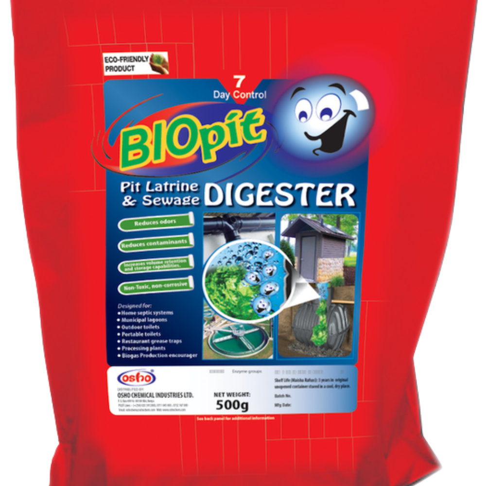 Bio pit latrine & sewage Digester (500g)